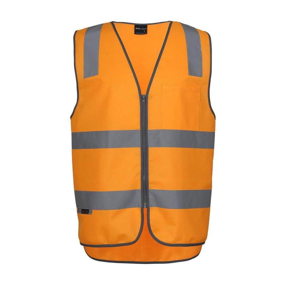 AUST. RAIL (D+N) SAFETY VEST-Orange