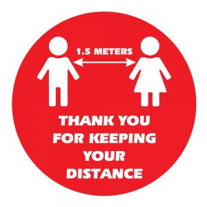 Thank You For Keeping Your Distance