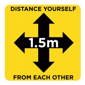 1.5m Distance Yourself