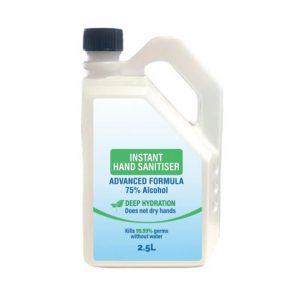 2.5L HSDR Hand Sanitiser
